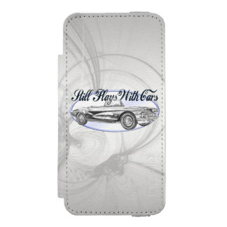 Still Plays With Cars Incipio Watson™ iPhone 5 Wallet Case