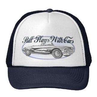 Still Plays With Cars Trucker Hat