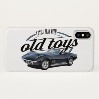 Still Plays with Corvettes iPhone X Case