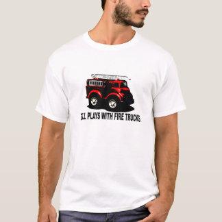 Still plays with firetrucks T-Shirts.png T-Shirt
