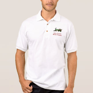 Still Plays With Trains Polo Shirt