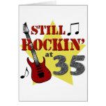 Still Rockin' At 35 Cards