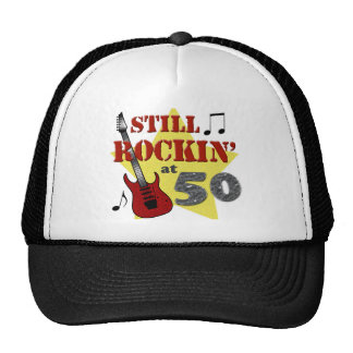 Still Rockin' At 50 Trucker Hat