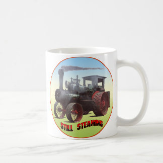 Still Steaming Traction Engine Classic White Coffee Mug