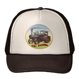 Still Steaming Traction Engine Trucker Hat