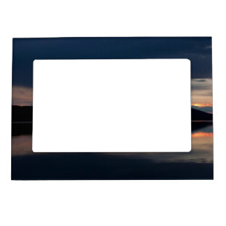Still Sunset Magnetic Picture Frame
