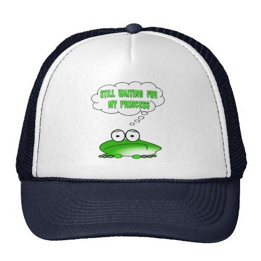 Still Waiting for My Princess Trucker Hats