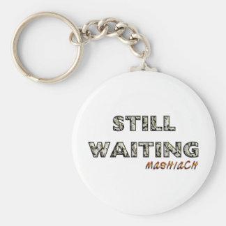 Still Waiting Mashiach.png Keychain