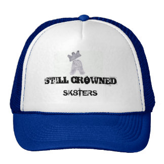 stillC, STILL CROWNED, SK8TERS - Customized Mesh Hats