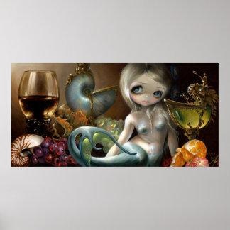 Stilleven II: Zeemeermin ART PRINT Mermaid surreal