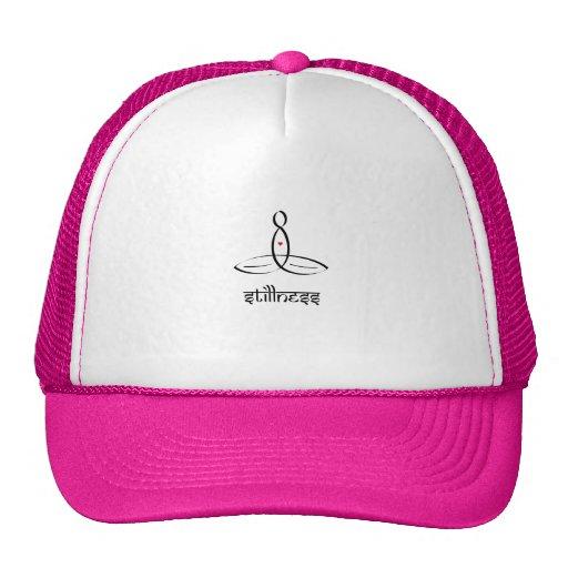 Stillness - Black Sanskrit style Hats
