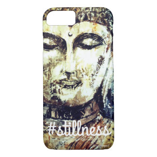 Stillness Zen Buddha Watercolor Art Phone Case