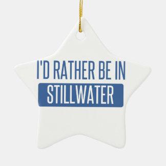 Stillwater Ceramic Ornament