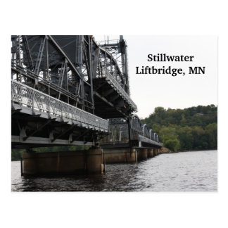 Stillwater Liftbridge, MN Postcard