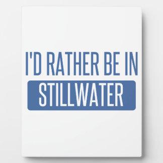 Stillwater Plaque