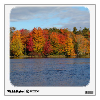 Stillwater River Autumn Landscape 2015 Wall Decal
