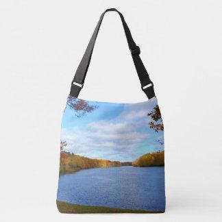 Stillwater River Autumn Scenery 2015 Crossbody Bag