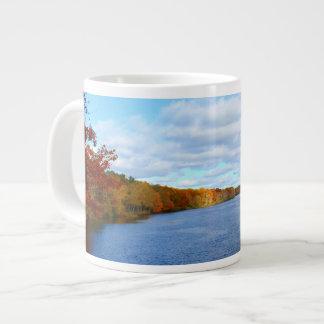 Stillwater River Autumn Scenery 2015 Large Coffee Mug