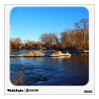 Stillwater River Late Winter 2016 Wall Sticker