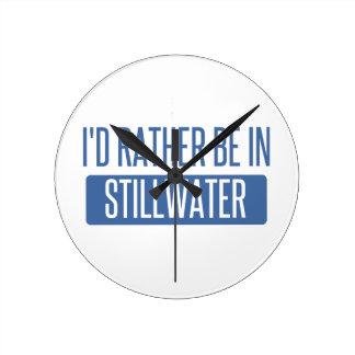 Stillwater Round Clock