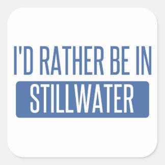 Stillwater Square Sticker