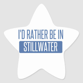 Stillwater Star Sticker