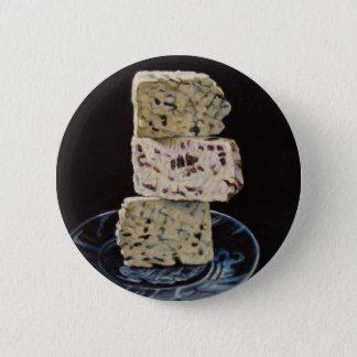 Stilton Cheese Stack 2 Inch Round Button