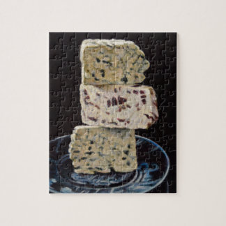 Stilton Cheese Stack Jigsaw Puzzle