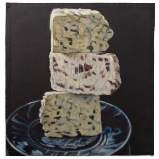 Stilton Cheese Stack Napkin