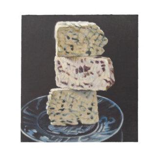 Stilton Cheese Stack Notepad