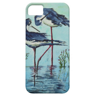Stilts Bathing - Painting iPhone 5 Case