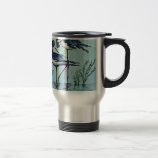 Stilts Bathing - Painting Travel Mug