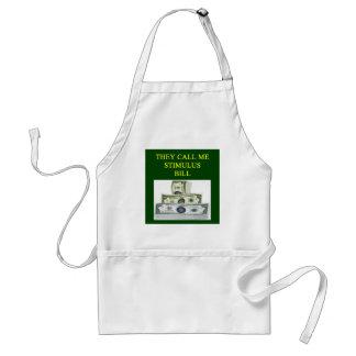 stimulus bill joke standard apron