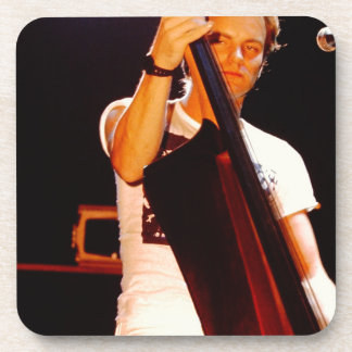 Sting Playing The Cello Beverage Coaster