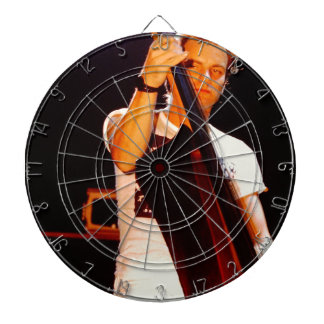 Sting Playing The Cello Dartboard