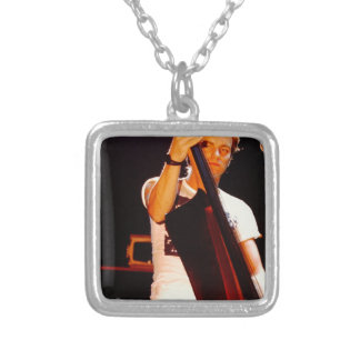 Sting Playing The Cello Silver Plated Necklace