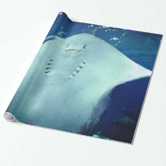 Sting Ray Wrapping Paper