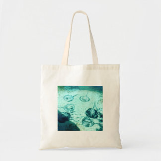 Sting rays in Xcaret - Mexico Tote Bag