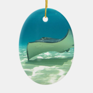 Stingray Ceramic Ornament