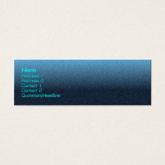 Stingray -skinny mini business card
