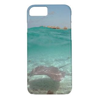 Stingray underwater in Bora Bora iPhone 7 case