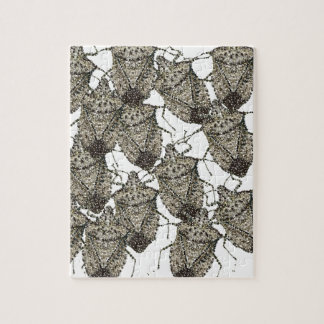 Stink Bugs bedazzled Jigsaw Puzzle