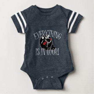 Stinker Skunk Baby Bodysuit