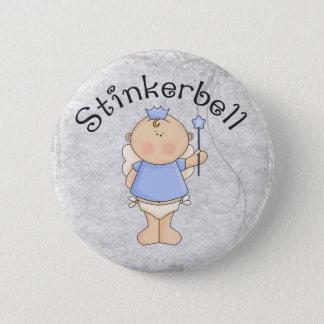 Stinkerbell 2 Inch Round Button