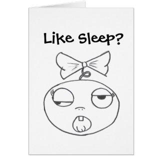 Stinkeye New Baby Card