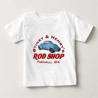 Stinky and Henrys Rod Shop Baby T-Shirt