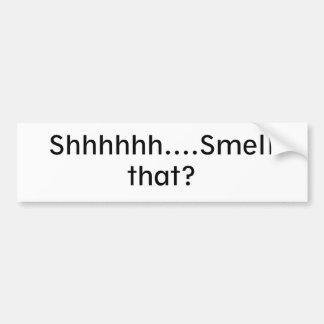 Stinky Bumper Sticker