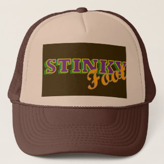 Stinky Foot Trucker Hat