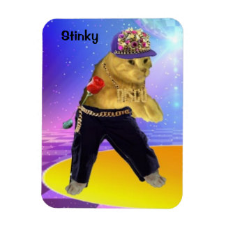 STINKY IN JAZZ PANTS MAGNET