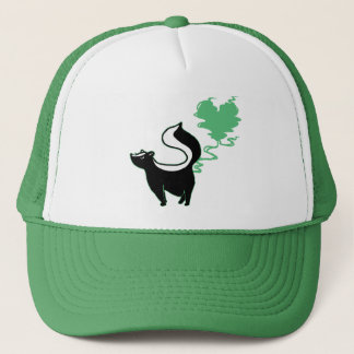 Stinky Love Skunk Trucker Hat